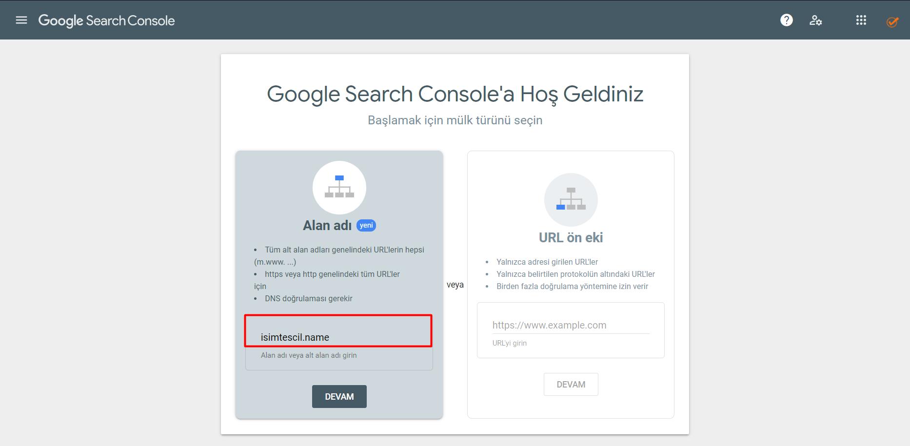 Google Search Console Kaydı Nasıl Yapılır